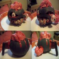Zombie Pumpkin by ChibiPlate