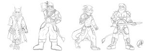 Characters Design 4 by SymbolHero