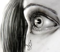 realistic eye by SarahBadr