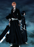 Rukia and Ichigo by Lord-Nadjib