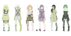 human/ plant adoptables (last one40 points) by zombie-adoptables