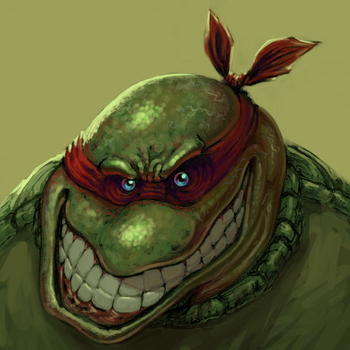 Distorted Ninja Turtle by aceIII