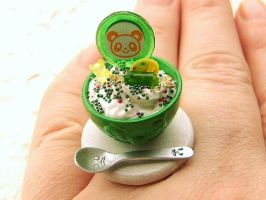Candy Bear Sundae Ring by souzoucreations