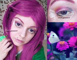 Fly Butterfly Makeup Lime Crime by Cherrybomb81 by cherrybomb-81