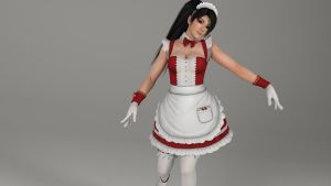 Maid Momiji by derkahead