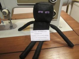'Frenderman' Minecraft Enderman Plush by colbyjackchz