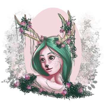 Oh My Deer, Lady Fawn by CourtElz