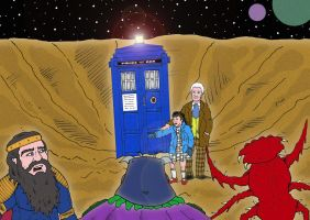 Doctor Who - Fannual 1 by mikedaws