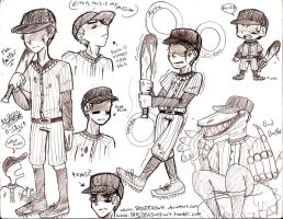 The Batter crappy sketch things by YASSDENSWH