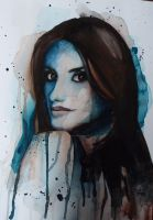 Penelope Cruz Watercolour by Jess-needs-username