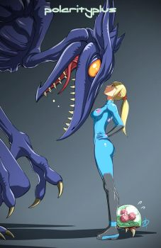 Metroid - Face Off by polarityplus