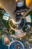 Looking Down From The Spaceship by WTek79