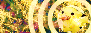 Facebook Cover: Pikachu Lolipop Multi Color by BobOfTibia
