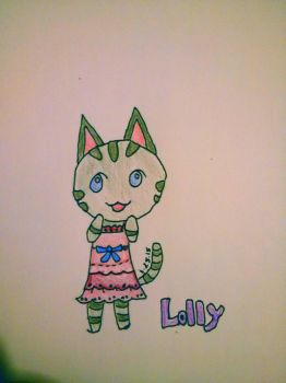 Lolly the cat by Korrafave
