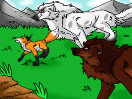 .: You aint getting away   Fox Hunt :. by Dunkin-Prime