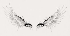 Winged Eyes by StenEV