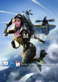 The making of Fly Girl by poibuts