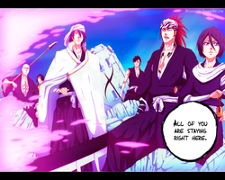 Bleach 585 - They will become his shield! by hyugasosby