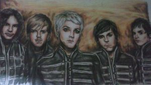 The Black Parade by Romii-oddartist