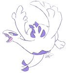 Lugia by Pterux