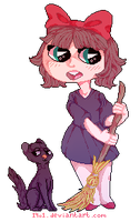 kiki's delivery service! by 19o1