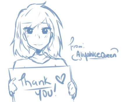 Thank You by AliyahIceQueen