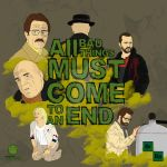Breaking Bad - All bad things must come to an end by Vecthand