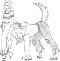 Minakshi and Ken by Rinlyn