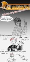 Colosseum Dirty Meme, hehehe by The-Alchemists-Muse