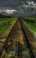 Railroad by Dynnnad