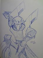 TFP: Prowl Sketch by BlueFire795