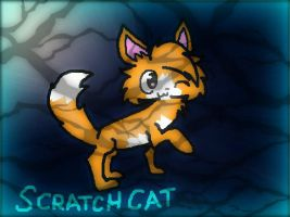 .:Scratch Cat:. by DalmationCat