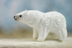 Polar bear new totem by hontor