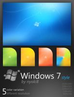 Windows 7 style by nyolc8