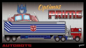 Generation One Optimus Prime by stourangeau