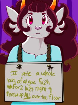 Petstuck shaming: Feferi by reachinggodtier