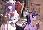 Patchouli and Twilight by cuhenghdj