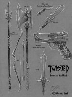 Twisted Props: The Forms of Maddock by railrunnermiranda