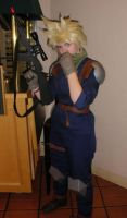 Cosplay ID military Cloud by SparksMcGhee