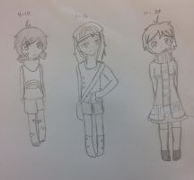 Age chart for Hannah Jaeger by InuLover097