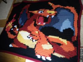 Charizard Blanket Pattern by lizzy9046