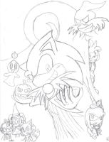 Sonic Halloween by SonicHearts