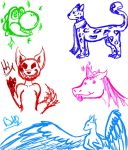 Sketches by ChemicallyColorful