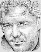 Russell Crowe by gregchapin