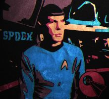 4-Colour Spock by AbelMvada