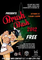 Brush Bash Poster by spawker