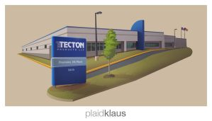 Building Illustration: Tectom by plaidklaus