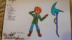 Character update: Roger by Dell-AD-productions