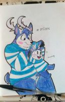 .:Mime the deer:. by Rougeprincess897
