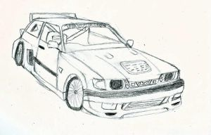 Nissan Sunny GTiR by romeroanchovy